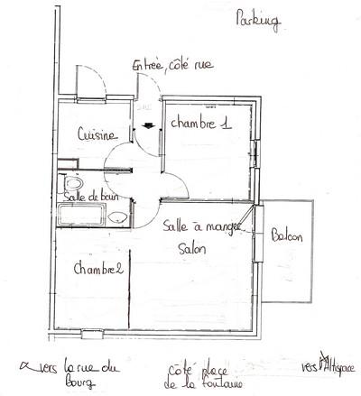 pr sentation de notre appartement de valmorel location de vacances pour 4 5 personnes en. Black Bedroom Furniture Sets. Home Design Ideas